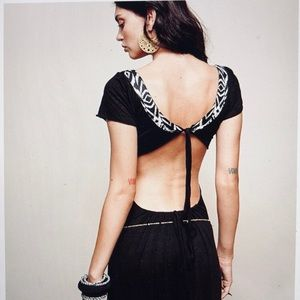 Dresses - ZhenNymph Open Back Tribal Maxi Dress